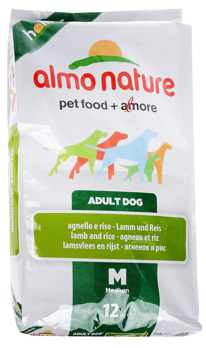 Корм сухой Almo Nature для взрослых собак, с ягненком и рисом, 12 кг10151Корм сухой Almo Nature представляет собой полноценное питание для взрослых собак. Высокое содержание свежего мяса делает этот продукт более привлекательными для собак и повышает усвояемость. Товар сертифицирован.