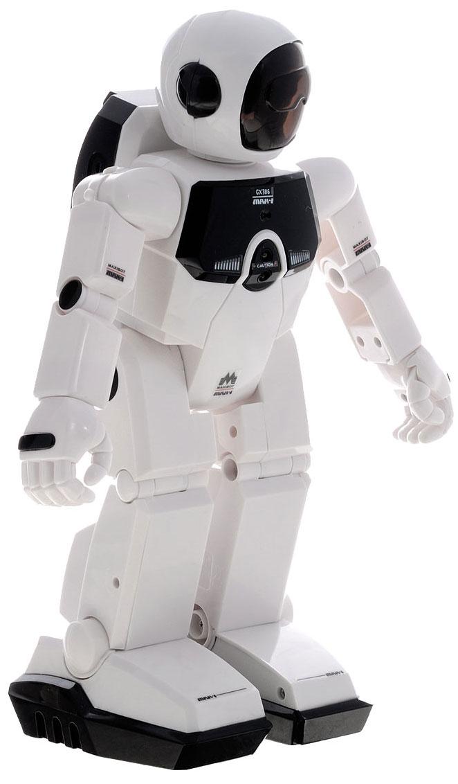 Silverlit Робот Programm-A-Bot, 36 команд88307Робот Silverlit Programm-A-Bot порадует любого мальчика, ведь вашему малышу предстоит обучить своего собственного робота. Два робота-гения с широкими игровыми возможностями и разнообразием движений непременно станут любимой игрушкой ребенка. Робот выполнен из прочного пластика, устойчивого к падениям и удара. Игрушка безопасна для ребенка, использованные красители не токсичны и гиппоаллергенны. Благодаря оригинальному дизайну, роботы выглядят очень стильно и эффектно. Робот оснащен 36 программируемыми командами, сенсором звука и сенсором препятствий, которые позволяют ему реагировать на хлопки и голос, а также обходить любые преграды на своем пути. Умный робот двигается и реагирует на звуковые команды - например, чтобы робот повернулся направо, хлопните в ладоши справа от него. На спине робота расположен пульт управления в виде космического ранца, с которого также можно отдавать различные команды. Робот способен общаться с членами своей семьи, его голова, руки и...
