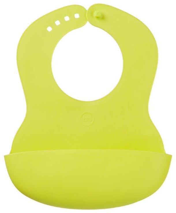 Happy Baby Нагрудник мягкий Baby Plastic Lime