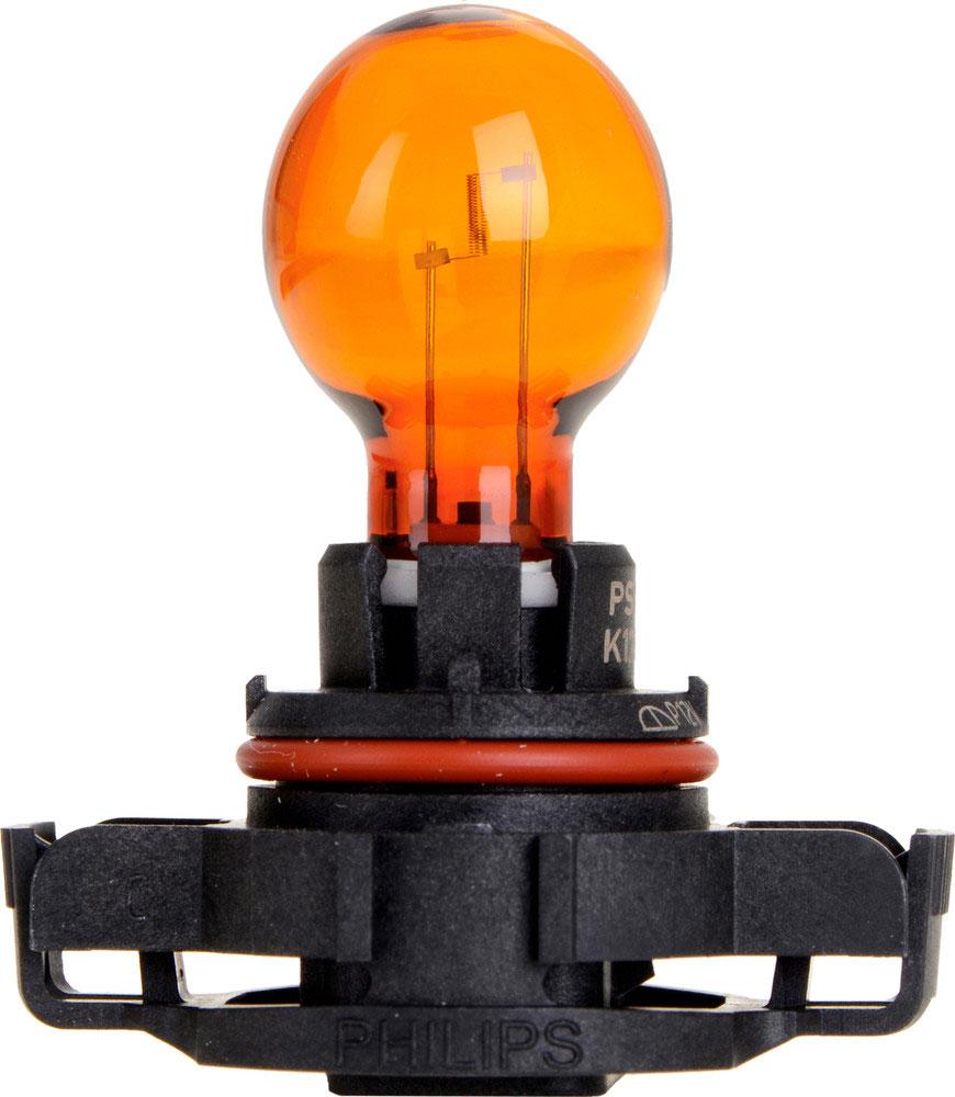 Лампа автомобильная галогенная Philips Vision, сигнальная, цоколь PSY19W (PG20/2), 12V, 19W12275NAC1Автомобильная лампа Philips Vision изготовлена из запатентованного кварцевого стекла с УФ-фильтром Philips Quartz Glass. Кварцевое стекло в отличие от обычного стекла выдерживает гораздо большее давление и больший перепад температур. При попадании влаги на работающую лампу, лампа не взрывается и продолжает работать. Лампа Philips Vision производит на 30% больше света по сравнению со стандартной лампой, благодаря чему стоп-сигналы или указатели поворота будут заметны с большего расстояния. Лампа Philips Vision отличается высокой эффективностью, соответствуя всем современным требованиям.