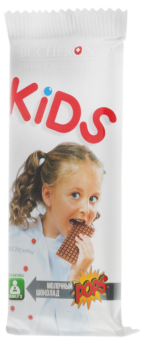 Bucheron Kids молочный шоколад со злаками, 50 г