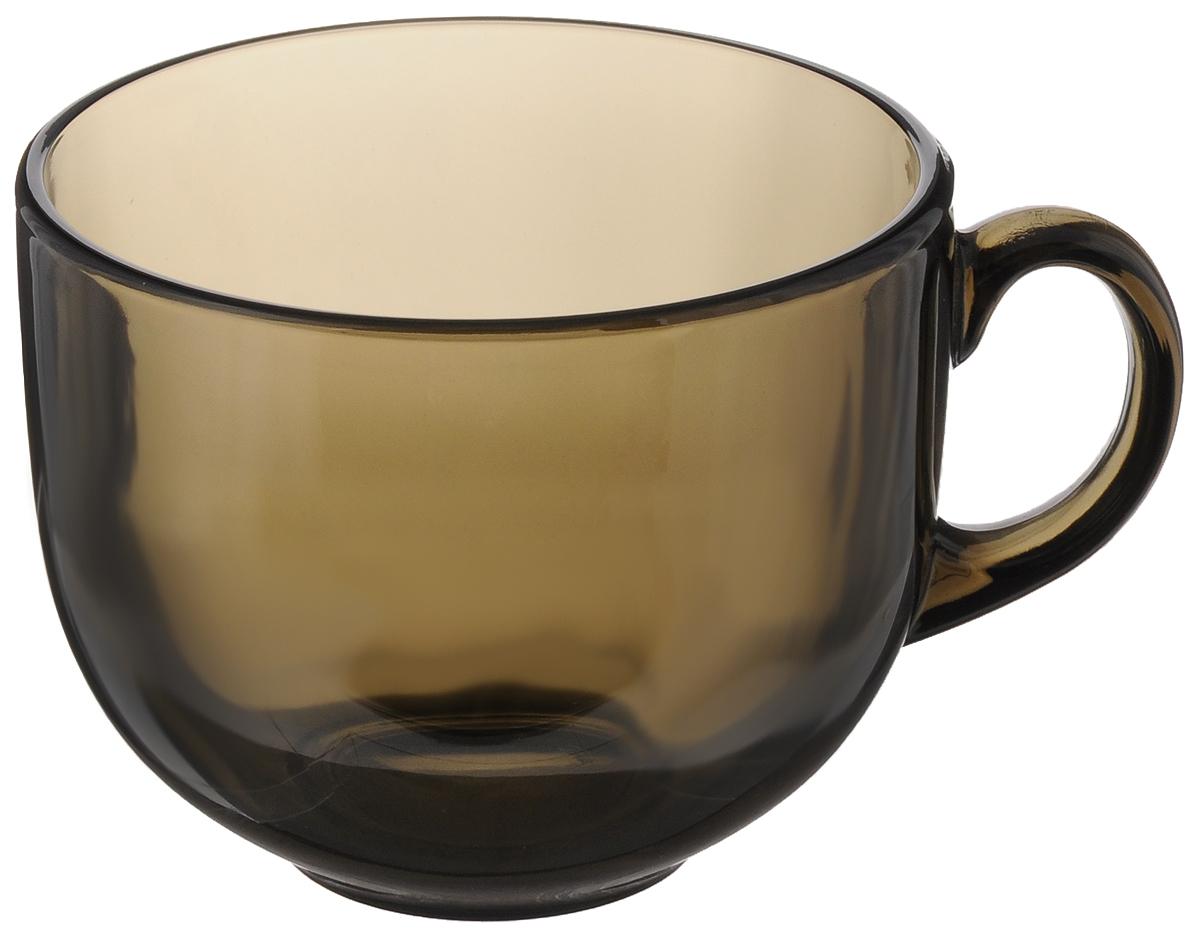 Кружка Luminarc Джамбо, 500 млH9152Кружка Luminarc Джамбо изготовлена из ударопрочного стекла. Такая кружка прекрасно подойдет для горячих и холодных напитков. Она дополнит коллекцию вашей кухонной посуды и будет служить долгие годы. Можно мыть в посудомоечной машине и использовать в микроволновой печи. Диаметр кружки (по верхнему краю): 10,5 см. Высота кружки: 9 см.