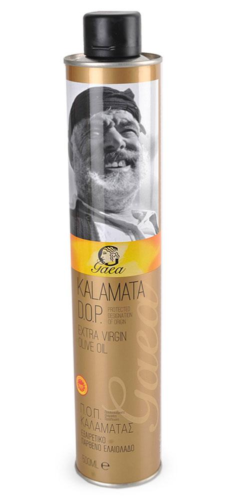 Gaea Kalamata D.O.P. Extra Virgin масло оливковое, 0,5 л0370025Gaea Kalamata D.O.P. Extra Virgin - превосходное оливковое масло из области Каламата на юго-западе Пелопоннеса. Сами оливки обрабатываются исключительно механическими методами (холодный отжим) для получения уникальных характеристик и свежего аромата.