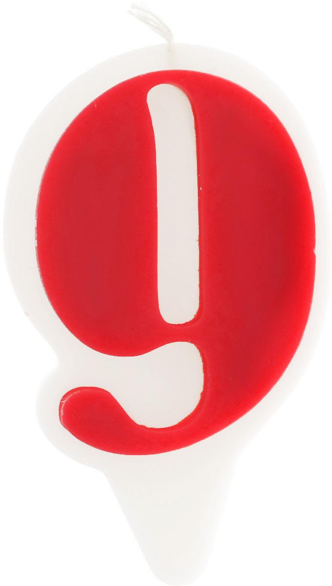Свеча-цифра Принт Торг Гармония. Цифра 9, цвет: красный, белый05.209.06Свеча-цифра для торта Принт Торг Гармония. Цифра 9 изготовлена из высококачественного пищевого парафина. Такая свеча станет отличным решением для декорирования торта к празднику. Ее можно комбинировать с другими цифрами. Изделие хорошо и долго горит. С этой свечой ваш праздник станет еще удивительнее и веселее. Высота свечи (без учета фитиля): 8,5 см.