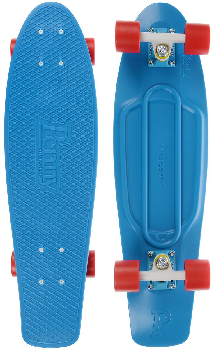 """Пенни борд Penny """"Nickel"""", цвет: голубой, красный, белый, дека 69 х 19 см"""