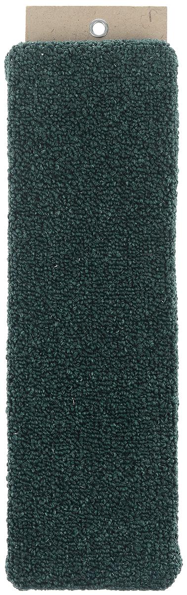 "Когтеточка ""Меридиан"", настенная, цвет: зеленый, бежевый, 40 х 11 х 2,5 см"