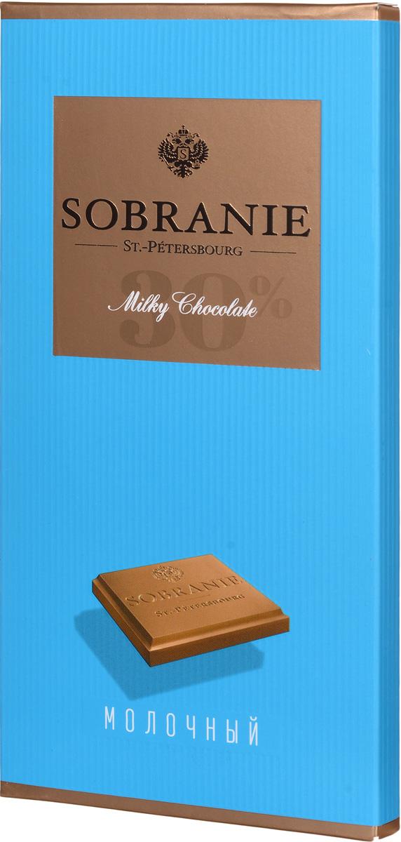 Sobranie молочный шоколад, 90 г14.0676Sobranie — особый шоколад, в котором соединяются верность российским кондитерским традициям, бескомпромиссность качества и изысканность вкуса. Созданный по бережно хранимому рецепту прошлого века, шоколад Sobranie изготавливается исключительно из отборных какао-бобов с Берега Слоновой Кости.