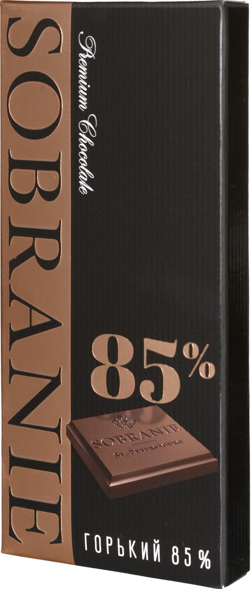 Sobranie горький шоколад, 45 г14.2236Sobranie — особый шоколад, в котором соединяются верность российским кондитерским традициям, бескомпромиссность качества и изысканность вкуса. Созданный по бережно хранимому рецепту прошлого века, шоколад Sobranie изготавливается исключительно из отборных какао-бобов с Берега Слоновой Кости.