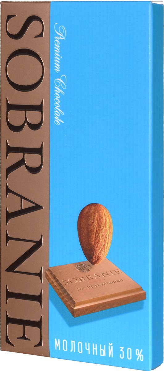 Sobranie молочный шоколад с орехами, 45 г