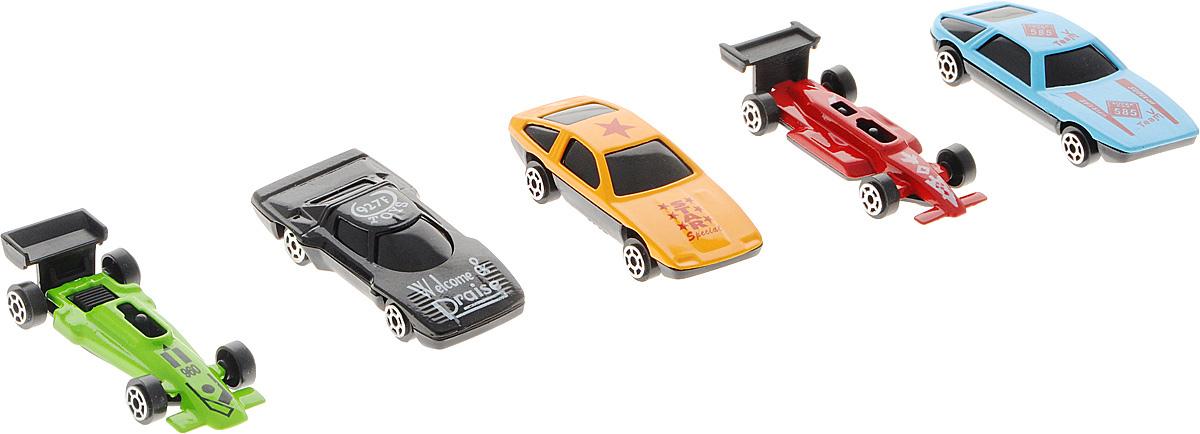 Shantou Набор машинок City Racer 5 штG100-H36069Набор машинок Shantou City Racer понравится любому мальчику. В набор входит 5 спортивных и гоночных автомобилей. Каждая машинка уникальна как по форме, так и по раскраске. Эти гоночные автомобили сделаны из очень прочного металла, поэтому могут участвовать в самых отчаянных гонках без правил. Имея такой автопарк, можно устраивать соревнования и гонки с друзьями.