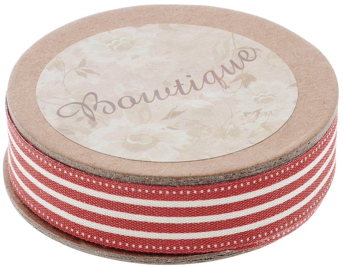 Лента хлопковая Hemline Полоски, цвет: красный, белый, 1,5 х 500 смVR15.014Лента на картонной катушке Hemline Полоски выполнена из хлопка. Такая лента идеально подойдет для оформления различных творческих работ, может использоваться для скрапбукинга, создания аппликаций, декора коробок и открыток, часто ее применяют при пошиве одежды, сумок, аксессуаров. Лента наивысшего качества практична в использовании. Она станет незаменимым элементом в создании вашего рукотворного шедевра.