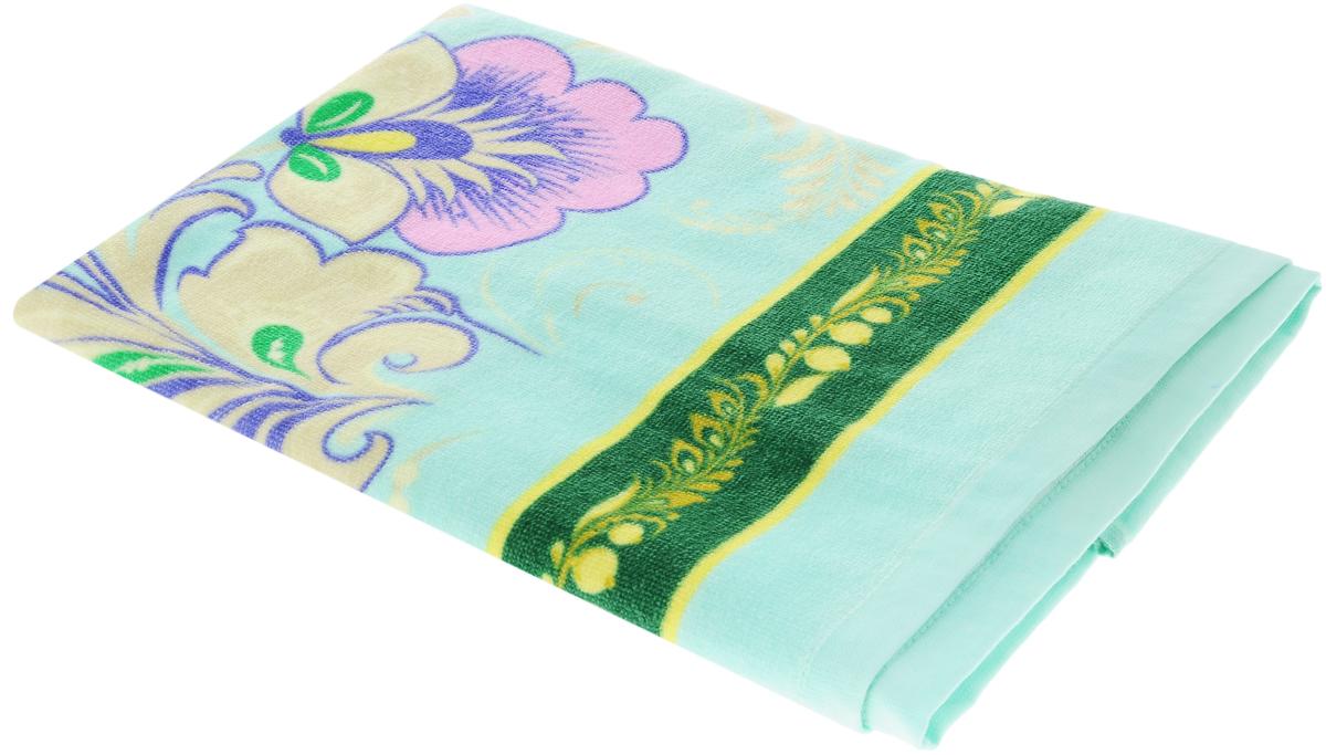 Полотенце Soavita Premium. Птица, 70 х 140 см87431Махровое полотенце Soavita Premium. Птица выполнено из 100% хлопка и декорировано оригинальным рисунком. Изделие отлично впитывает влагу, быстро сохнет, сохраняет яркость цвета и не теряет форму даже после многократных стирок. Полотенце очень практично и неприхотливо в уходе. Оно создаст прекрасное настроение и украсит интерьер в ванной комнате.
