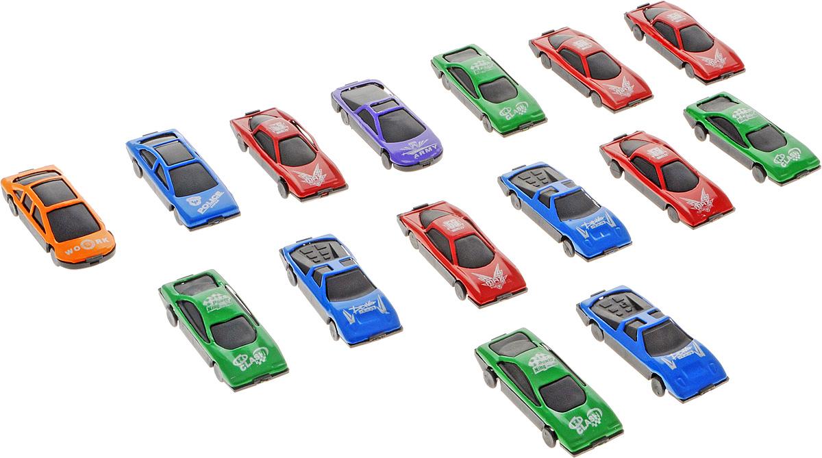 Shantou Набор машинок Auto World 15 шт1403I063Набор машинок Shantou Auto World понравится любому мальчику. В набор входят 15 спортивных и гоночных автомобилей. Машинки изготовлены из качественных и безопасных материалов. Имея такой автопарк, можно устраивать соревнования и гонки с друзьями. Благодаря разнообразию моделей и цветов скучать будет некогда.