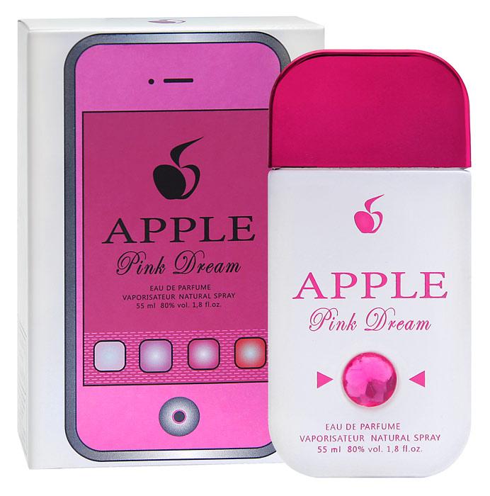 Apple Parfums Парфюмерная вода женская Pink Dream, 55 мл41261Немного кокетства, чуть-чуть озорства не испортят имидж этой деловой целеустремленной натуры. Но улыбка затаилась в уголках губ, блеск глаз надежно упрятан под ресницами. И только аромат своим упоительным цветочно-фруктовым дыханием предательски выдает и открытый веселый нрав, и нежность, и женственность. И губы ее подобны лепесткам розы, чей аромат ведет солирующую партию. И удивительная гармония вкусной страсти маракуйи с полутонами мускуса и чувственности женской натуры, возникающей в тот момент, когда аромат уже согрелся на теплой нежной коже. Так приятно сознавать, что этот необычный розовый флакончик своим образом удачно подчеркнул стиль, ароматом раскрыл красоту женской души! Классификация аромата : цветочно-фруктовый. Пирамида аромата : Основные ноты: бергамот, апельсин, маракуйя, лепестки розы, белая лилия, водяная лилия, сандал. Характеристики: Объем: 55 мл. Производитель: Россия. ...