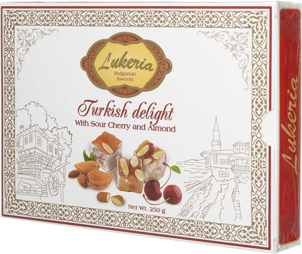 Lukeria Рахат-лукум с вишней и миндалем, 250 г