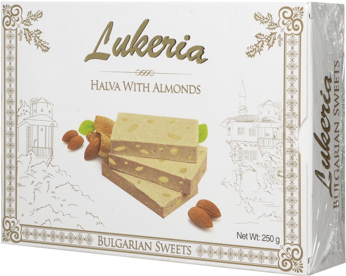 Lukeria Халва тахинная с миндалем, 250 г
