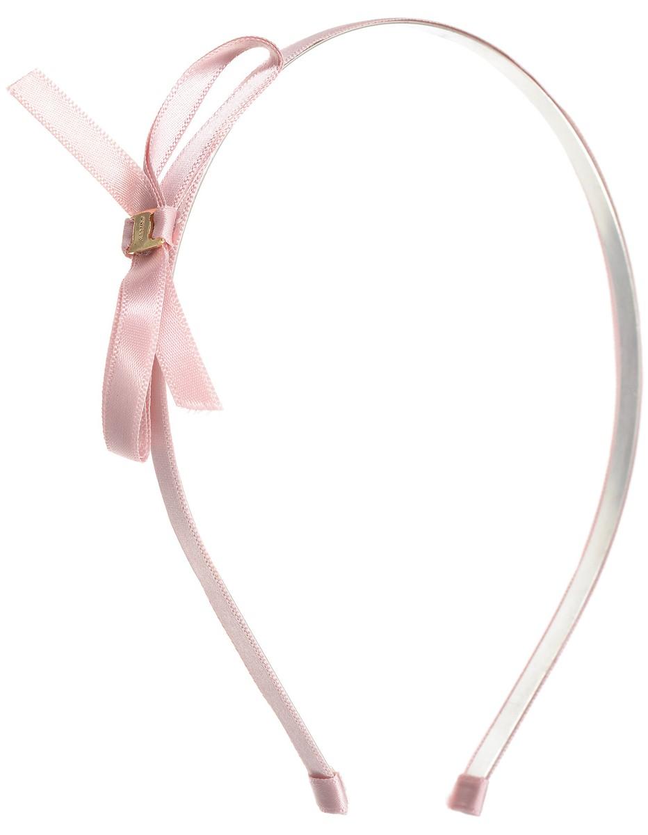 Ободок Kawaii Factory Julia, цвет: розовый. KW003-000015KW003-000015Ободок Julia от Kawaii Factory украсит прическу каждой девушки. Этот простой аксессуар не только поможет убрать спадающую челку и зафиксировать непослушные волосы, но и станет завершающим штрихом к вашему образу. Маленький и утонченный - он аккуратно располагается на голове и будет сочетаться практически с любым цветом волос. Ободок выполнен из металла и атласа, оформлен изящным бантиком в цвет изделия. Изысканность банта не позволит забывать о его существовании, с таким ободком вы будете чувствовать себя нежной и гармоничной.
