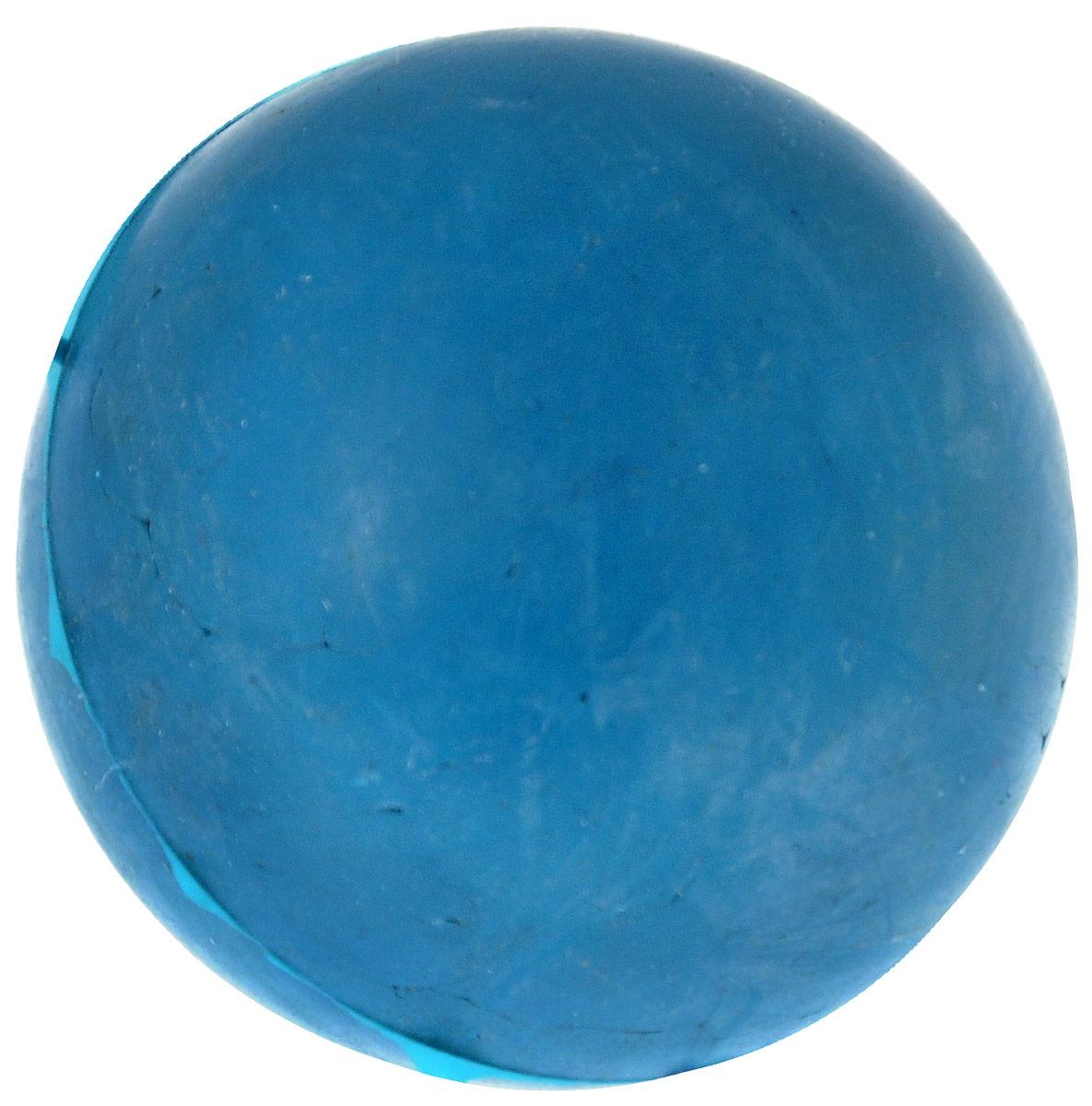 Игрушка для собак Зоомарк Мячик, цвет: синий, диаметр 4,5 смД-44_синийИгрушка для собак ЗооМарк, изготовленная из высококачественной резины, выполнена в виде мячика. Изделие устойчиво к разгрызанию. Резиновые мячи - это отличный подарок активному питомцу, чьи хозяева заботятся о здоровье и правильном развитии собаки. Игрушка не портит десна и зубы, нежно очищая их. Такая игрушка порадует вашего любимца, а вам доставит массу приятных эмоций, ведь наблюдать за игрой всегда интересно и приятно. Оставшись в одиночестве, ваша собака будет увлеченно играть. Диаметр: 4,5 см.