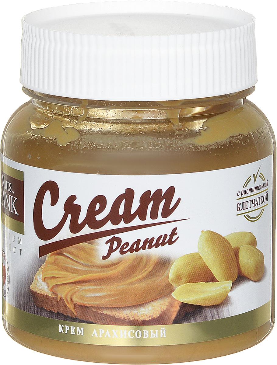 Nuts Bank Крем арахисовый, 250 г