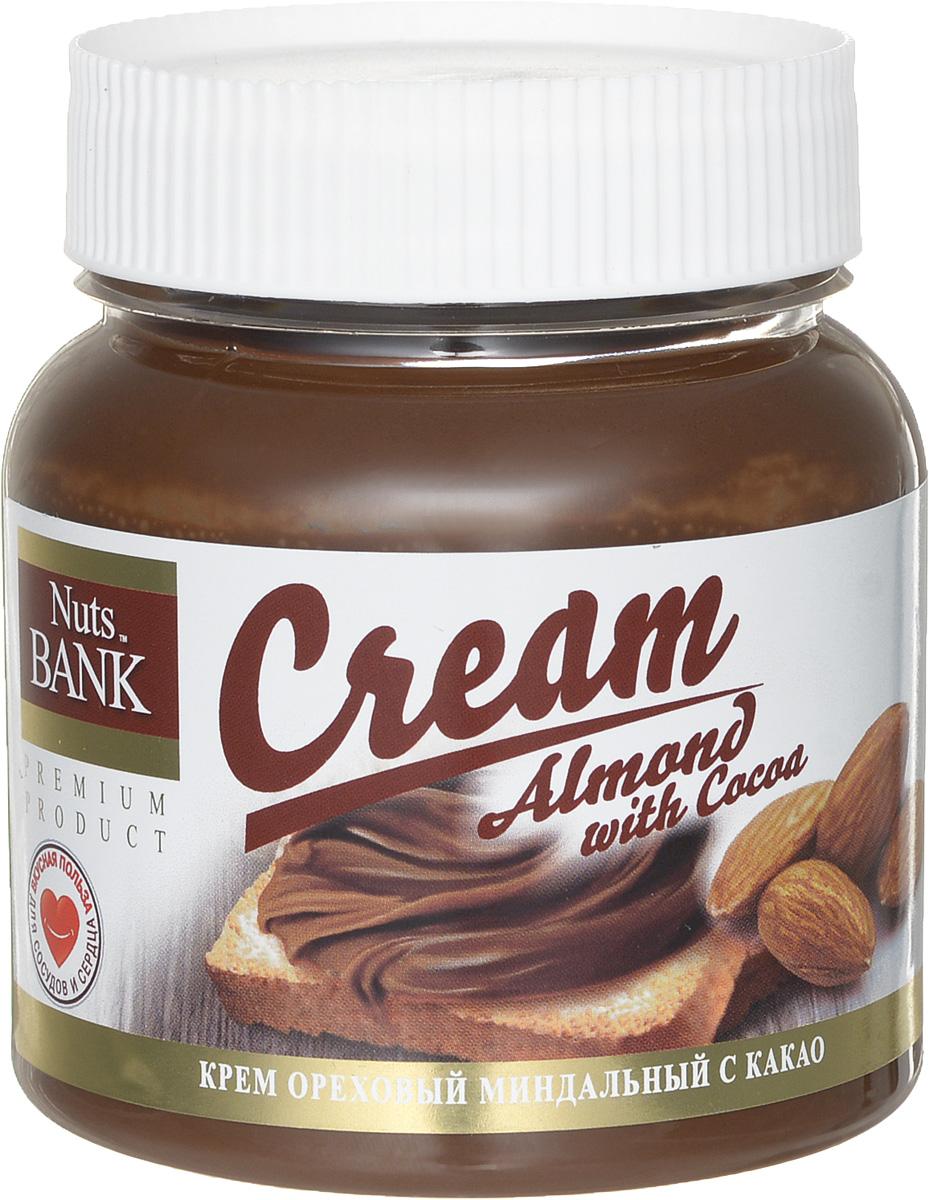 Nuts Bank Крем ореховый из миндаля с какао, 250 г