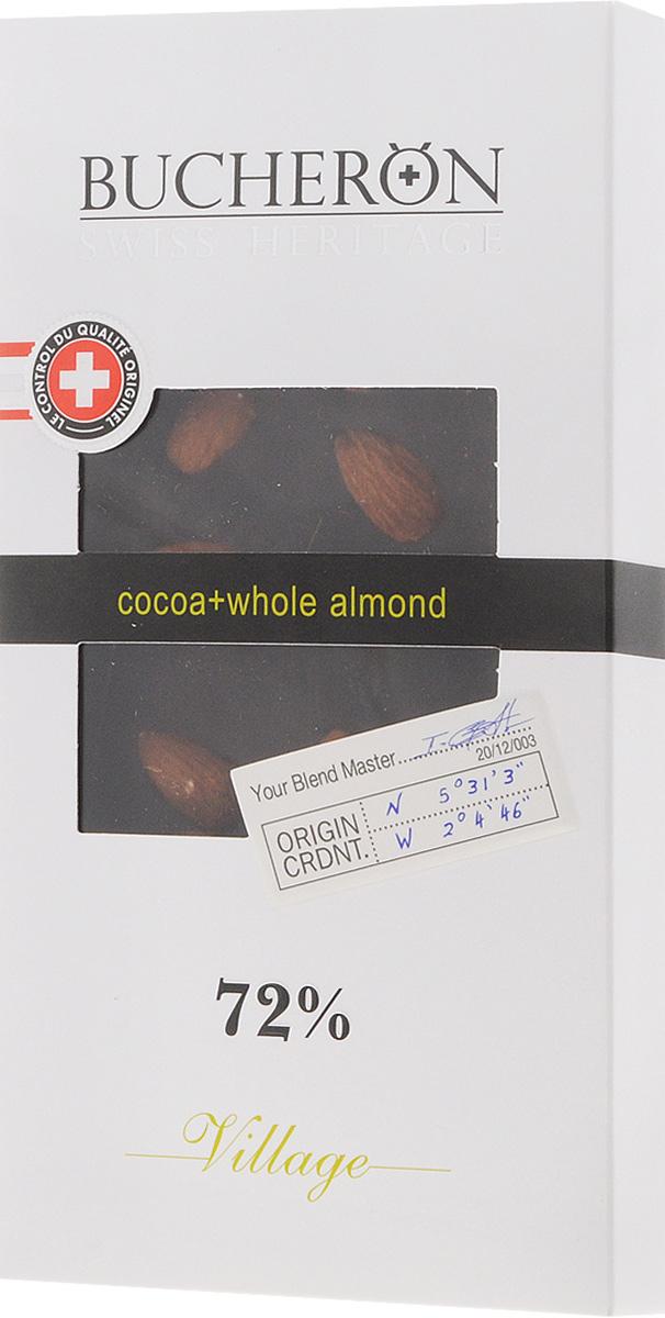 Bucheron горький шоколад с цельным миндалем, 100 г 14.2441