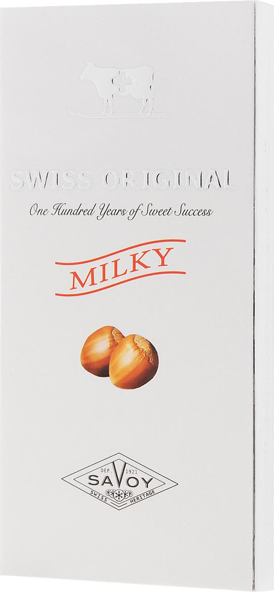 Swiss Original молочный шоколад с дробленым фундуком, 100 г 14.6096