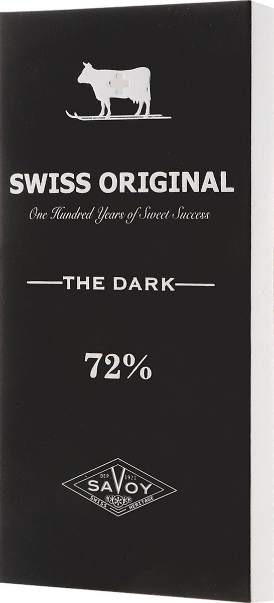 Swiss Original горький шоколад, 100 г14.5990Какао-бобы, собранные в Африке в районе Берега Слоновой Кости, делают вкус горького шоколада Swiss Original пряным с фруктовыми оттенками.