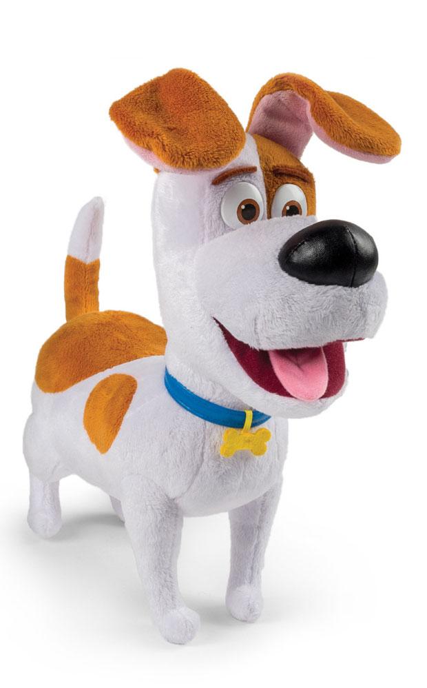 Secret Life of Pets Мягкая игрушка Терьер Макс 7280972809Макс - это главный герой мультфильма, красивый маленький терьер, который очень сильно любит свою хозяйку и занимается очень важным и непростым делом - постоянно ждет ее у двери и скучает. Он очень добрый и справедливый, однако, все в корне меняется, когда владелица обзаводится еще одной собакой дворового происхождения Дюком, который безумно не нравится Максу. Он пытается всеми силами выгнать его из дома, чтобы остаться единственным любимчиком и не делить с ним кров. Но все меняется, когда банда во главе с Кроликом замышляет плохое и им приходится действовать совместно. Мягкая игрушка Secret Life of Pets Терьер Макс - прекрасный подарок для каждого поклонника мультфильма Тайная жизнь домашних животных, так и для любого человека, который любит милые плюшевые игрушки. Нажмите на кнопку, расположенную на животе собачки и она начнет произносить различные звуки и фразы из мультфильма на английском языке. Игрушка изготовлена из высококачественного искусственного меха, приятного на...
