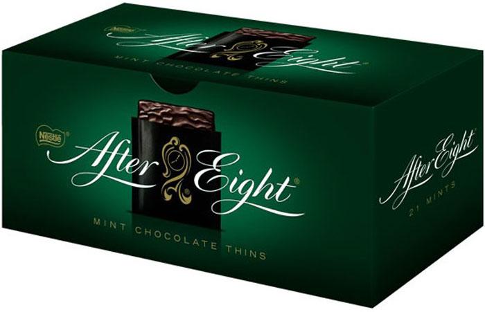 Конфеты с мятной начинкой в темном шоколаде. Изумительная мятная начинка в темном шоколаде.