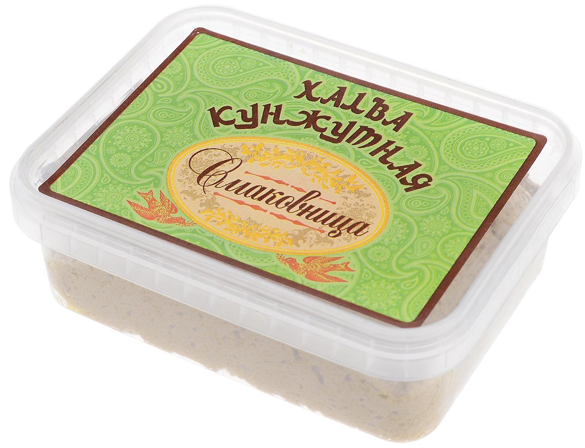 Смаковница Халва кунжутная на сахаре, 250 гSKS250История восточных сладостей насчитывает многие тысячелетия. Благодаря гурманам Ближнего и Среднего Востока во всем мире стали известны халва, нуга, пахлава и конечно, знаменитый рахат-лукум – уже сами эти названия содержат привкус восточных сказок. Отличало их также то, что восточные сладости можно было хранить в теплом климате, и они не теряли своей свежести и не портились. Экзотические лакомства далекого Востока в течение долгого времени были неизвестны европейцам. В Европе они появились примерно в XVII – XVIII веках, их подавали в самых богатых домах как изысканные деликатесы. Вскоре восточные сладости стали признаком тонкого вкуса.