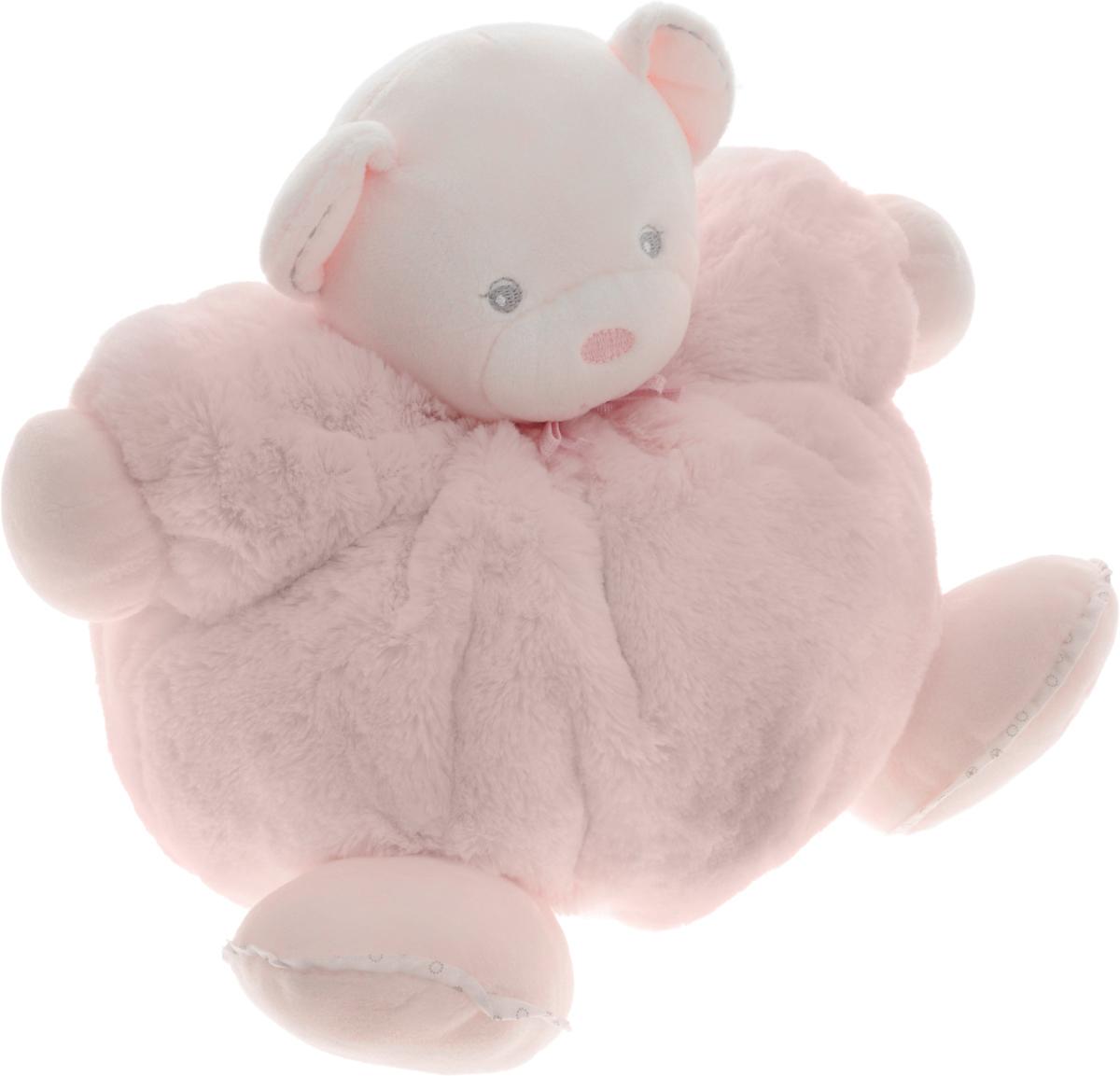 Kaloo Мягкая игрушка Мишка цвет светло-розовый 22 смK962143Великолепный мягкий медвежонок светло-розового цвета Kaloo привлечет внимание малыша и надолго станет его постоянным спутником и любимой игрушкой. Игрушка выполнена из качественных и безопасных для здоровья детей материалов, которые не вызывают аллергии, приятны на ощупь и доставляют большое удовольствие во время игр. Игрушку приятно держать в руках, прижимать к себе и придумывать разнообразные игры. Внутри мишки находится погремушка, которая успокоит малыша и привлечет его внимание. Игры с мягкими игрушками развивают тактильную чувствительность и сенсорное восприятие. Все игрушки Kaloo прошли множественные тесты и соответствуют мировым стандартам безопасности. Именно поэтому все игрушки рекомендованы для детей с рождения, что отличает их от большинства производителей мягких игрушек. Игрушка поставляется в стильной коробке и идеально подходит в качестве подарка.