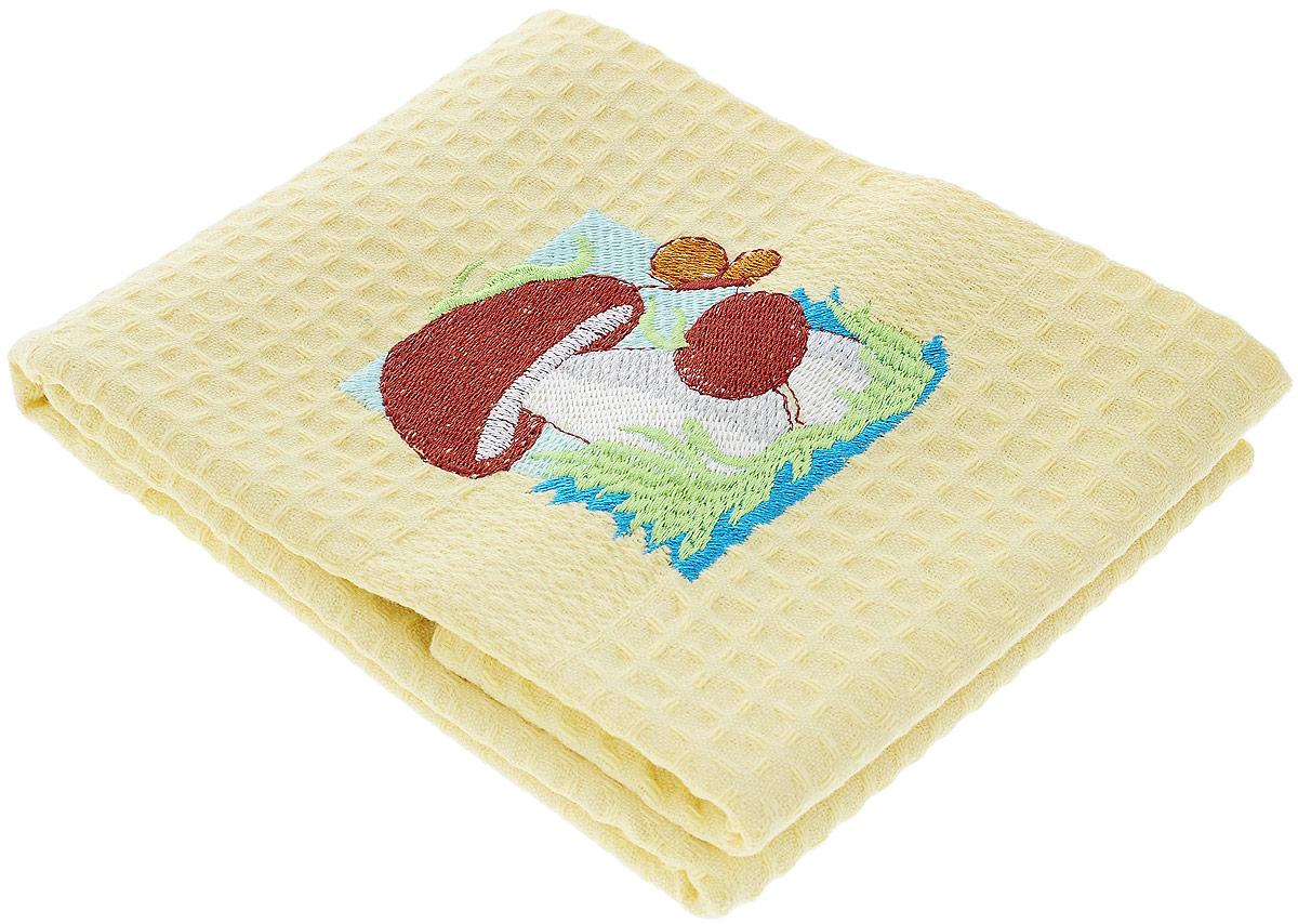 Полотенце кухонное Soavita Грибы, 40 х 60 см48805_грибыКухонное полотенце Soavita, выполненное из 100% хлопка, оформлено вышитым рисунком в виде двух грибков. Изделие предназначено для использования на кухне и в столовой. Такое полотенце станет отличным вариантом для практичной и современной хозяйки. Рекомендуется стирка при температуре 40°C.