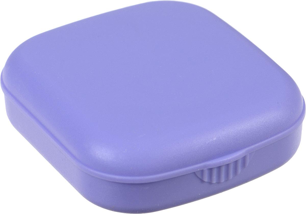 Контейнер для контактных линз Kawaii Factory Matte, цвет: сиреневый. KW007-000009KW007-000009Контейнер является необходимым атрибутом для тех, кто носит контактные линзы, а в сочетании с яркими цветами он превратит ежедневный уход за линзами в праздник Качественный и удобный пластиковый контейнер для хранения контактных линз Matte от Kawaii Factory выполнен из приятного на ощупь пластика. В набор входит: коробочка для хранения с зеркальцем, контейнер для контактных линз, пинцет, палочка для бесконтактного одевания линз и флакон для раствора. Для удобства использования емкости контейнера обозначены буквами L и R.