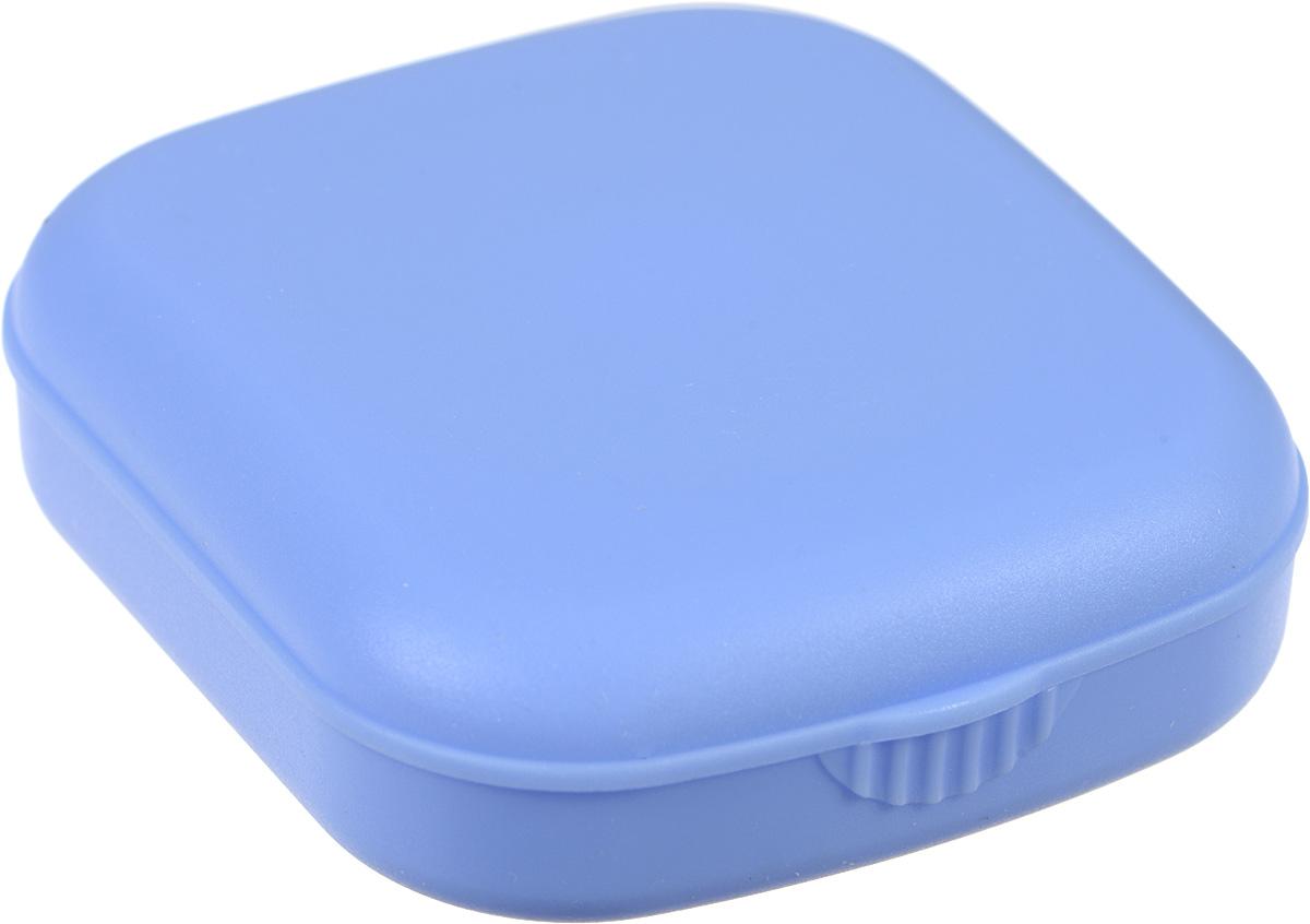 Контейнер для контактных линз Kawaii Factory Matte, цвет: голубой. KW007-000013KW007-000013Контейнер является необходимым атрибутом для тех, кто носит контактные линзы, а в сочетании с яркими цветами он превратит ежедневный уход за линзами в праздник Качественный и удобный пластиковый контейнер для хранения контактных линз Matte от Kawaii Factory выполнен из приятного на ощупь пластика. В набор входит: коробочка для хранения с зеркальцем, контейнер для контактных линз, пинцет, палочка для бесконтактного одевания линз и флакон для раствора. Для удобства использования емкости контейнера обозначены буквами L и R.