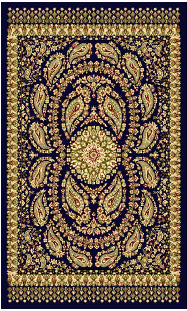 Ковер Kamalak tekstil, прямоугольный, цвет: синий, 50 x 100 см. УК-0469УК-0469Ковры-паласы выполнены из полипропилена. Ковры обладают хорошими показателями теплостойкости и шумоизоляции. Являются гиппоалергенными. За счет невысокого ворса ковры легко чистить. Вам придется по душе широкая гамма цветов и возможность гармонично оформить интерьер. Практичный и устойчивый к износу ворс - от постоянного хождения не истирается, не накапливает статическое электричество. Структура волокна в полипропиленовых моделях гладкая, поэтому грязь не может выесться, на ворсе она скапливается с трудом. Полипропилен не впитывает влагу, отталкивает водянистые пятна. Уход: Самый простой способ избавить изделие от грязи – пропылесосить его с обеих сторон (лицевой и изнаночной). Влажная уборка с применением шампуней и моющих средств не противопоказана. Если шерсти и шёлку универсальные чистящие составы не подходят, то для синтетики они придутся в самый раз. Хранить их нужно рулоном, не складывая «салфеткой». При надлежащем уходе синтетический ковёр прослужит долго, не утратив ни...