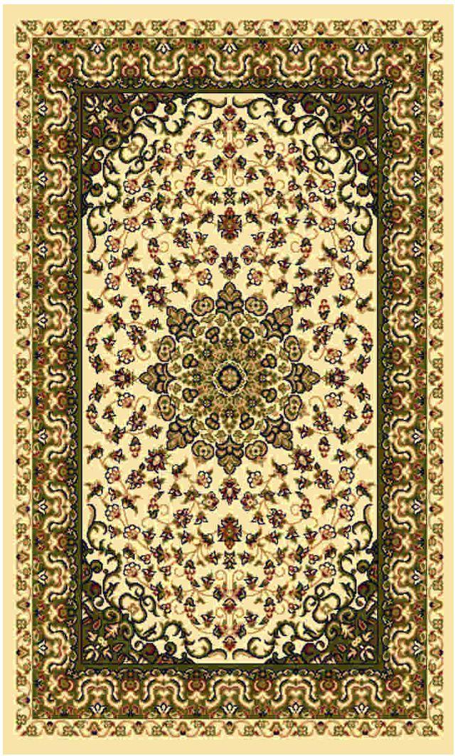 """Ковер """"Kamalak tekstil"""", прямоугольный, цвет: кремовый, 100 x 150 см. УК-0202"""