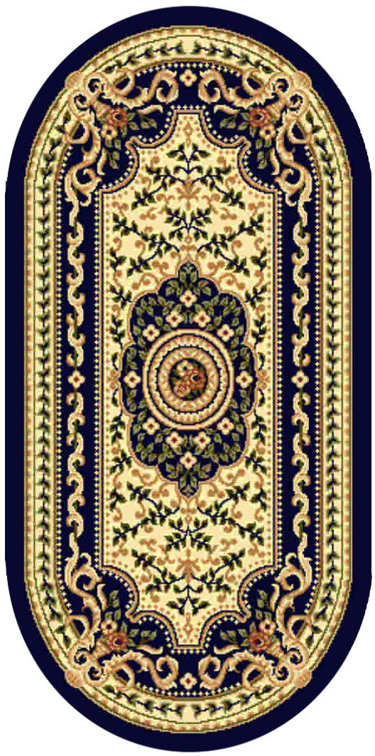 Ковер Kamalak tekstil, овальный, 60 x 110 см. УК-0405УК-0405Ковер Kamalak Tekstil изготовлен из прочного синтетического материала heat-set, улучшенного варианта полипропилена (эта нить получается в результате его дополнительной обработки). Полипропилен износостоек, нетоксичен, не впитывает влагу, не провоцирует аллергию. Структура волокна в полипропиленовых коврах гладкая, поэтому грязь не будет въедаться и скапливаться на ворсе. Практичный и износоустойчивый ворс не истирается и не накапливает статическое электричество. Ковер обладает хорошими показателями теплостойкости и шумоизоляции. Оригинальный рисунок позволит гармонично оформить интерьер комнаты, гостиной или прихожей. За счет невысокого ворса ковер легко чистить. При надлежащем уходе синтетический ковер прослужит долго, не утратив ни яркости узора, ни блеска ворса, ни упругости. Самый простой способ избавить изделие от грязи - пропылесосить его с обеих сторон (лицевой и изнаночной). Влажная уборка с применением шампуней и моющих средств не противопоказана. ...