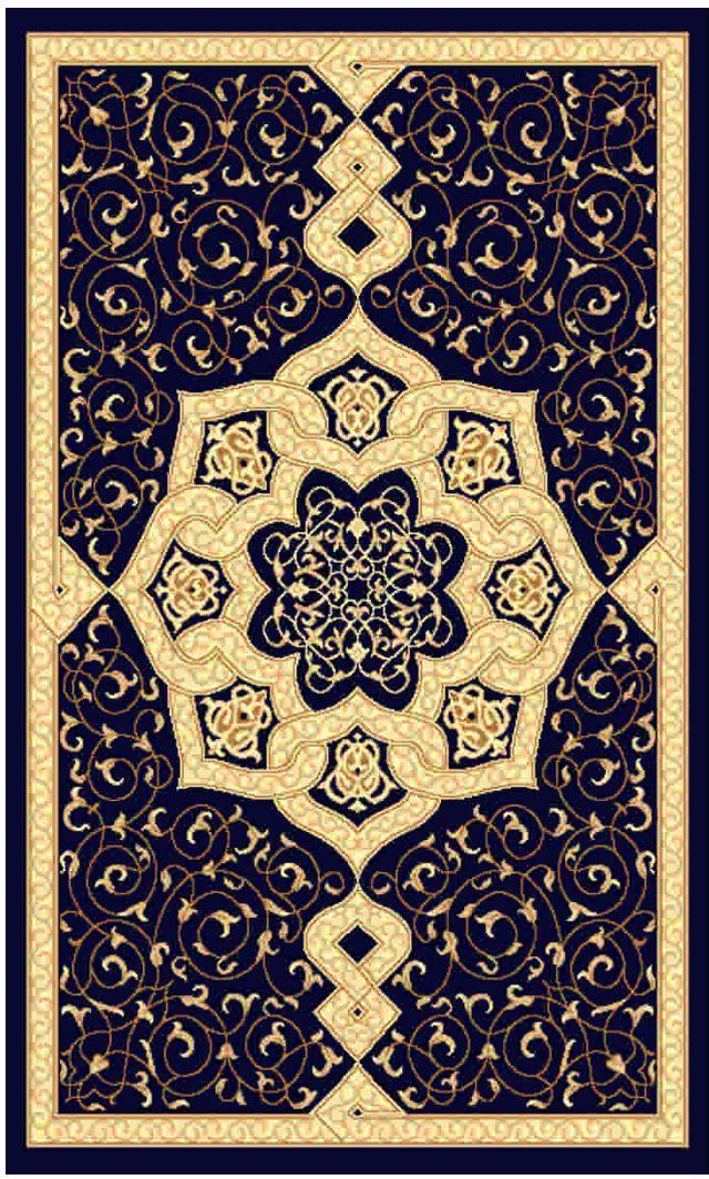 Ковер Kamalak tekstil, прямоугольный, цвет: синий, 50 x 100 см. УК-0454УК-0454Ковры-паласы выполнены из полипропилена. Ковры обладают хорошими показателями теплостойкости и шумоизоляции. Являются гиппоалергенными. За счет невысокого ворса ковры легко чистить. Вам придется по душе широкая гамма цветов и возможность гармонично оформить интерьер. Практичный и устойчивый к износу ворс - от постоянного хождения не истирается, не накапливает статическое электричество. Структура волокна в полипропиленовых моделях гладкая, поэтому грязь не может выесться, на ворсе она скапливается с трудом. Полипропилен не впитывает влагу, отталкивает водянистые пятна. Уход: Самый простой способ избавить изделие от грязи – пропылесосить его с обеих сторон (лицевой и изнаночной). Влажная уборка с применением шампуней и моющих средств не противопоказана. Если шерсти и шёлку универсальные чистящие составы не подходят, то для синтетики они придутся в самый раз. Хранить их нужно рулоном, не складывая «салфеткой». При надлежащем уходе синтетический ковёр прослужит долго, не утратив ни...