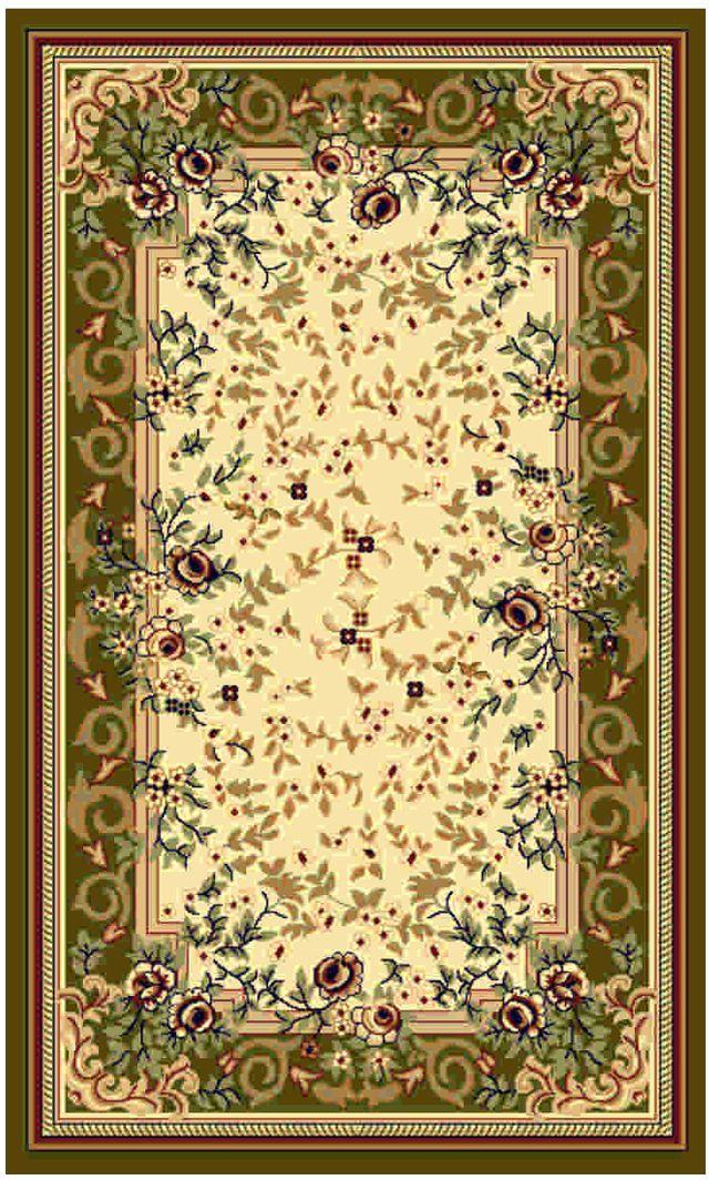 """Ковер """"Kamalak tekstil"""", прямоугольный, цвет: кремовый, 50 x 100 см. УК-0463"""