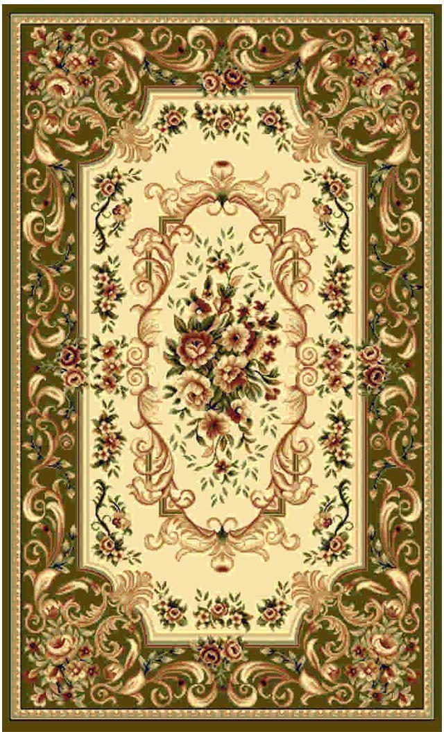 Ковер Kamalak tekstil, овальный, цвет: кремовый, 60 x 110 см. УК-0360УК-0360Ковры-паласы выполнены из полипропилена. Ковры обладают хорошими показателями теплостойкости и шумоизоляции. Являются гиппоалергенными. За счет невысокого ворса ковры легко чистить. Вам придется по душе широкая гамма цветов и возможность гармонично оформить интерьер. Практичный и устойчивый к износу ворс - от постоянного хождения не истирается, не накапливает статическое электричество. Структура волокна в полипропиленовых моделях гладкая, поэтому грязь не может выесться, на ворсе она скапливается с трудом. Полипропилен не впитывает влагу, отталкивает водянистые пятна. Уход: Самый простой способ избавить изделие от грязи – пропылесосить его с обеих сторон (лицевой и изнаночной). Влажная уборка с применением шампуней и моющих средств не противопоказана. Если шерсти и шёлку универсальные чистящие составы не подходят, то для синтетики они придутся в самый раз. Хранить их нужно рулоном, не складывая «салфеткой». При надлежащем уходе синтетический ковёр прослужит долго, не утратив ни...