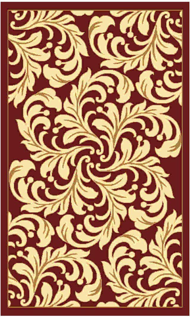 Ковер Kamalak tekstil, прямоугольный, цвет: бордовый , 50 x 100 см. УК-0501УК-0501Ковры-паласы выполнены из полипропилена. Ковры обладают хорошими показателями теплостойкости и шумоизоляции. Являются гиппоалергенными. За счет невысокого ворса ковры легко чистить. Вам придется по душе широкая гамма цветов и возможность гармонично оформить интерьер. Практичный и устойчивый к износу ворс - от постоянного хождения не истирается, не накапливает статическое электричество. Структура волокна в полипропиленовых моделях гладкая, поэтому грязь не может выесться, на ворсе она скапливается с трудом. Полипропилен не впитывает влагу, отталкивает водянистые пятна. Уход: Самый простой способ избавить изделие от грязи – пропылесосить его с обеих сторон (лицевой и изнаночной). Влажная уборка с применением шампуней и моющих средств не противопоказана. Если шерсти и шёлку универсальные чистящие составы не подходят, то для синтетики они придутся в самый раз. Хранить их нужно рулоном, не складывая «салфеткой». При надлежащем уходе синтетический ковёр прослужит долго, не утратив ни...