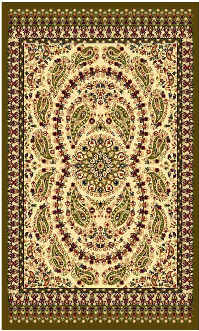 """Ковер """"Kamalak tekstil"""", прямоугольный, цвет: кремовый, 50 x 100 см. УК-0471"""