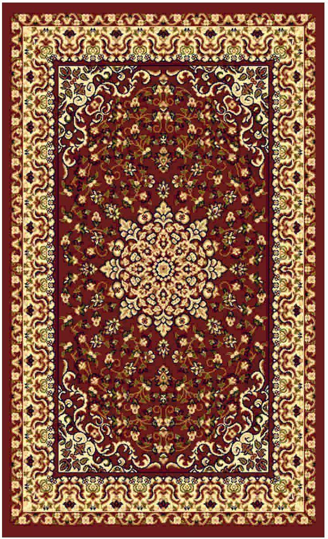"""Ковер """"Kamalak tekstil"""", прямоугольный, цвет: кремовый, 50 x 100 см. УК-0477"""
