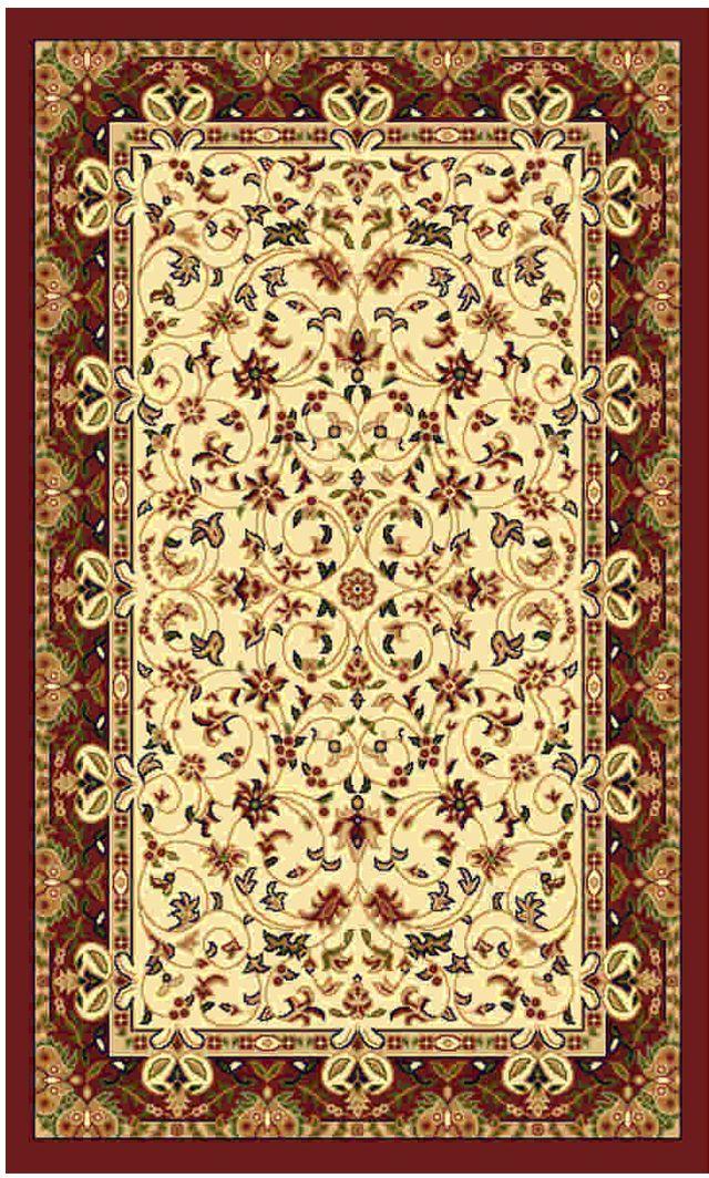 """Ковер """"Kamalak tekstil"""", прямоугольный, цвет: кремовый, 50 x 100 см. УК-0467"""