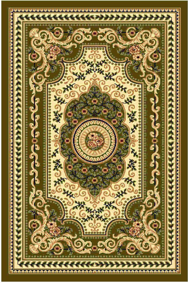 """Ковер """"Kamalak tekstil"""", прямоугольный, цвет: кремовый, 100 x 150 см. УК-0406"""