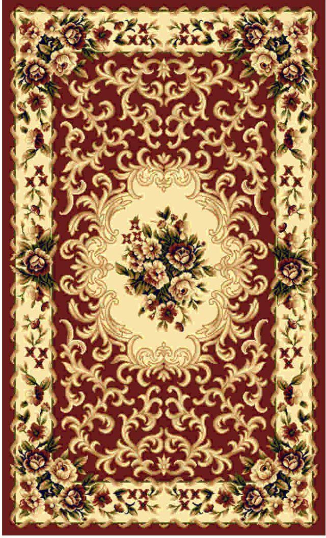 """Ковер """"Kamalak tekstil"""", прямоугольный, цвет: кремовый, 60 x 110 см. УК-0006"""