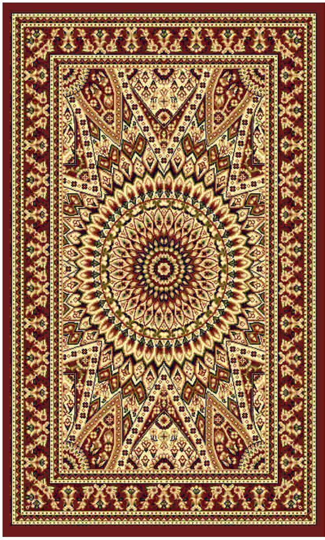 Ковер Kamalak tekstil, прямоугольный, цвет: кремовый, 50 x 100 см. УК-0488УК-0488Ковры-паласы выполнены из полипропилена. Ковры обладают хорошими показателями теплостойкости и шумоизоляции. Являются гиппоалергенными. За счет невысокого ворса ковры легко чистить. Вам придется по душе широкая гамма цветов и возможность гармонично оформить интерьер. Практичный и устойчивый к износу ворс - от постоянного хождения не истирается, не накапливает статическое электричество. Структура волокна в полипропиленовых моделях гладкая, поэтому грязь не может выесться, на ворсе она скапливается с трудом. Полипропилен не впитывает влагу, отталкивает водянистые пятна. Уход: Самый простой способ избавить изделие от грязи – пропылесосить его с обеих сторон (лицевой и изнаночной). Влажная уборка с применением шампуней и моющих средств не противопоказана. Если шерсти и шёлку универсальные чистящие составы не подходят, то для синтетики они придутся в самый раз. Хранить их нужно рулоном, не складывая «салфеткой». При надлежащем уходе синтетический ковёр прослужит долго, не утратив ни...