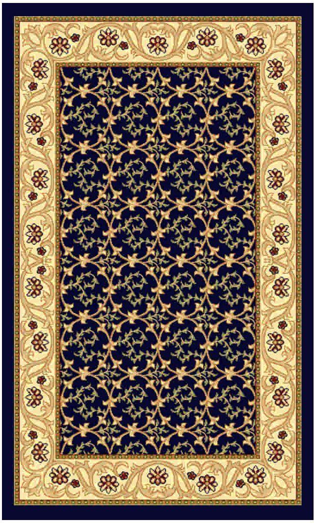 Ковер Kamalak tekstil, прямоугольный, цвет: синий, 50 x 100 см. УК-0478УК-0478Ковры-паласы выполнены из полипропилена. Ковры обладают хорошими показателями теплостойкости и шумоизоляции. Являются гиппоалергенными. За счет невысокого ворса ковры легко чистить. Вам придется по душе широкая гамма цветов и возможность гармонично оформить интерьер. Практичный и устойчивый к износу ворс - от постоянного хождения не истирается, не накапливает статическое электричество. Структура волокна в полипропиленовых моделях гладкая, поэтому грязь не может выесться, на ворсе она скапливается с трудом. Полипропилен не впитывает влагу, отталкивает водянистые пятна. Уход: Самый простой способ избавить изделие от грязи – пропылесосить его с обеих сторон (лицевой и изнаночной). Влажная уборка с применением шампуней и моющих средств не противопоказана. Если шерсти и шёлку универсальные чистящие составы не подходят, то для синтетики они придутся в самый раз. Хранить их нужно рулоном, не складывая «салфеткой». При надлежащем уходе синтетический ковёр прослужит долго, не утратив ни...