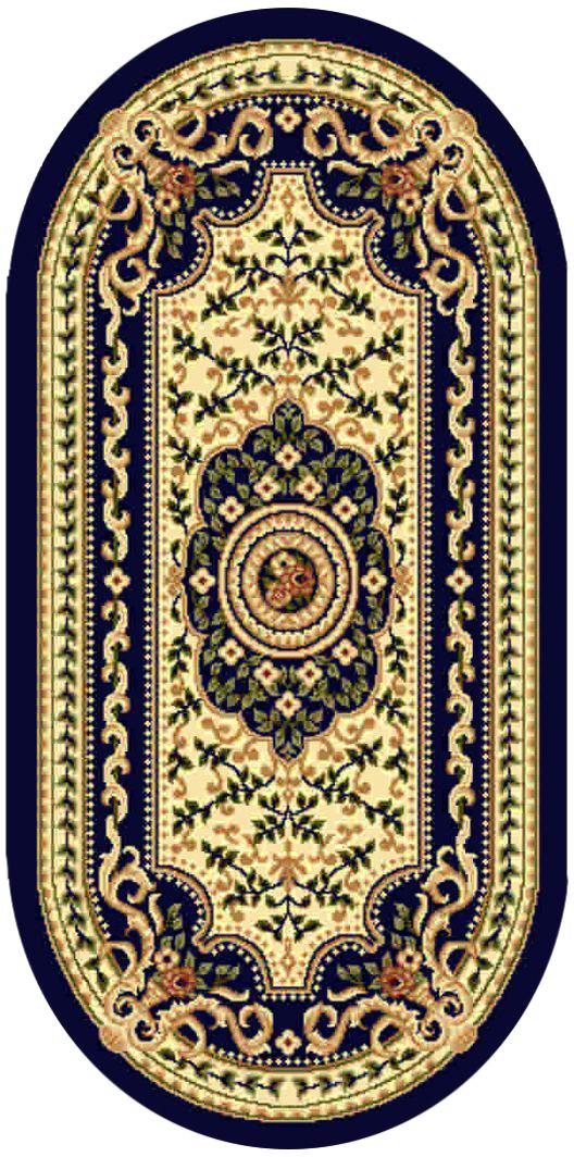 Ковер Kamalak tekstil, овальный, 80 x 150 см. УК-0403УК-0403Ковер Kamalak Tekstil изготовлен из прочного синтетического материала heat-set, улучшенного варианта полипропилена (эта нить получается в результате его дополнительной обработки). Полипропилен износостоек, нетоксичен, не впитывает влагу, не провоцирует аллергию. Структура волокна в полипропиленовых коврах гладкая, поэтому грязь не будет въедаться и скапливаться на ворсе. Практичный и износоустойчивый ворс не истирается и не накапливает статическое электричество. Ковер обладает хорошими показателями теплостойкости и шумоизоляции. Оригинальный рисунок позволит гармонично оформить интерьер комнаты, гостиной или прихожей. За счет невысокого ворса ковер легко чистить. При надлежащем уходе синтетический ковер прослужит долго, не утратив ни яркости узора, ни блеска ворса, ни упругости. Самый простой способ избавить изделие от грязи - пропылесосить его с обеих сторон (лицевой и изнаночной). Влажная уборка с применением шампуней и моющих средств не противопоказана. ...