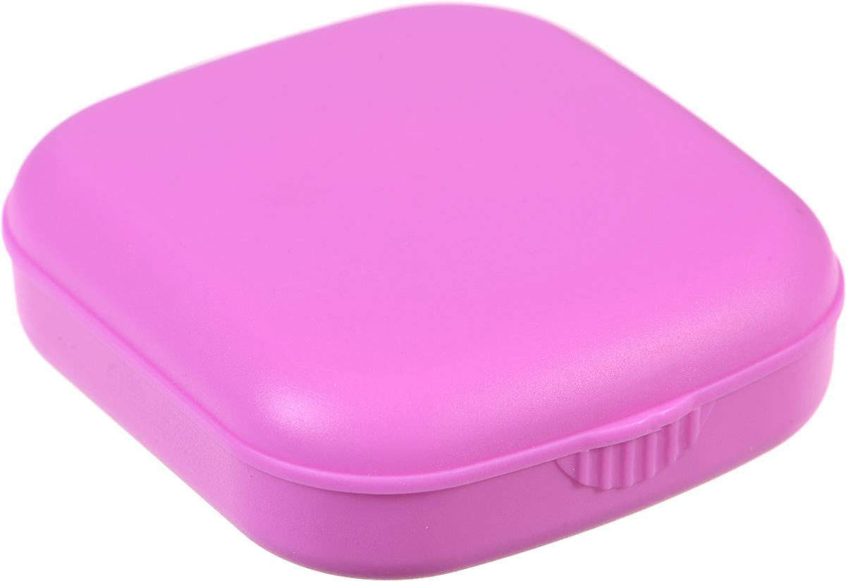 Контейнер для контактных линз Kawaii Factory Matte, цвет: розовый. KW007-000010KW007-000010Контейнер является необходимым атрибутом для тех, кто носит контактные линзы, а в сочетании с яркими цветами он превратит ежедневный уход за линзами в праздник Качественный и удобный пластиковый контейнер для хранения контактных линз Matte от Kawaii Factory выполнен из приятного на ощупь пластика. В набор входит: коробочка для хранения с зеркальцем, контейнер для контактных линз, пинцет, палочка для бесконтактного одевания линз и флакон для раствора. Для удобства использования емкости контейнера обозначены буквами L и R.